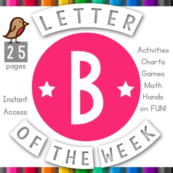 Letter of the Week: B