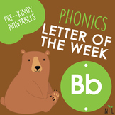 Letter of the Week - B - Phonic activities
