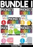 Alphabet Phonics Letter of the Week BUNDLE 1