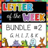 Letter of the Week - BUNDLE #2 G-K