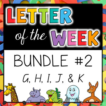 Letter of the Week - BUNDLE #2 G-K