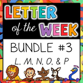 Letter of the Week - BUNDLE #3 L-P