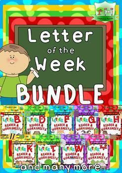 Letter of the Week - BUNDLE - All Consonants