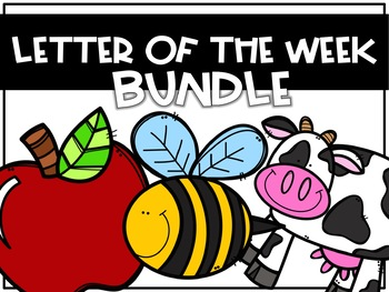 Letter of the Week BUNDLE- Letters A-Z