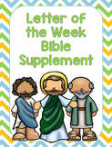 Letter of the Week Bible Supplement