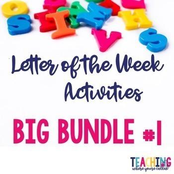 Letter of the Week Big Bundle #1
