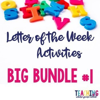 Letter of the Week Big Bundle #1