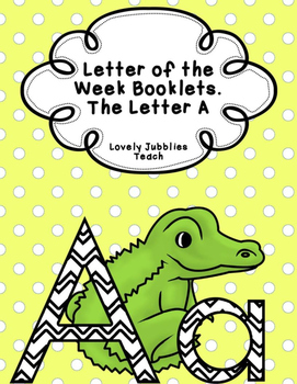 Letter of the Week Booklets and More