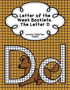 Letter of the Week Booklets and More: Letter D