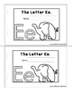 Letter of the Week Booklets and More: Letter E
