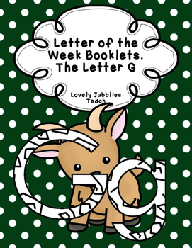 Letter of the Week Booklets and More: Letter G