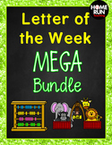 ***Alphabet A-Z Letter of the Week MEGA Bundle, Phonics pa