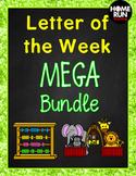 *Alphabet A-Z Letter of the Week Phonics MEGA Bundle