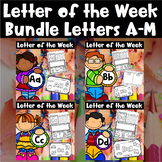 Letter of the Week Bundle - Letters A-M