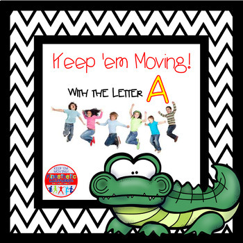 Alphabet Activities Letter of the Week Bundle for the Letter A