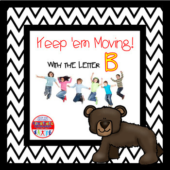 Alphabet Activities Letter of the Week Bundle for the Letter B