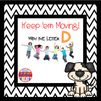 Alphabet Activities Letter of the Week Bundle for the Letter D