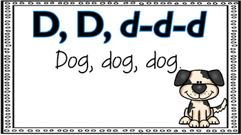 Alphabet Activities Letter of the Week D