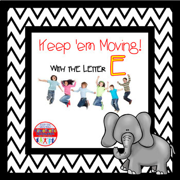 Alphabet Activities Letter of the Week Bundle for the Letter E