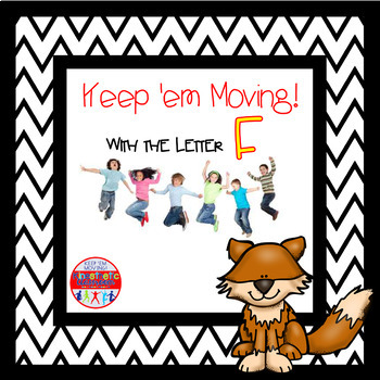 Alphabet Activities Letter of the Week Bundle for the Letter F