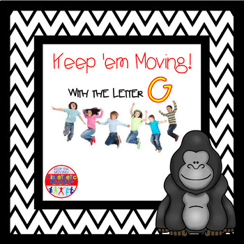 Alphabet Activities Letter of the Week Bundle for the Letter G