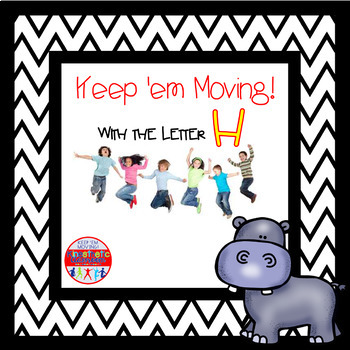 Alphabet Activities Letter of the Week Bundle for the Letter H