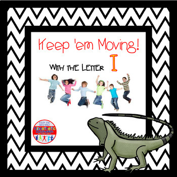 Alphabet Activities - Letter of the Week Bundle for the Letter I