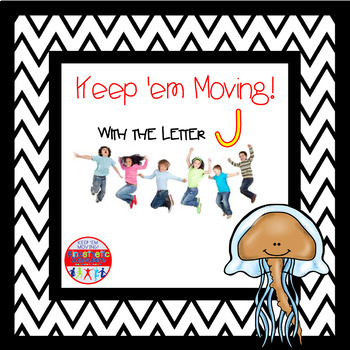 Alphabet Activities - Letter of the Week Bundle for the Letter J