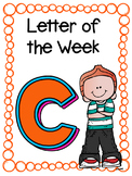 Letter of the Week- C