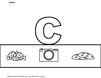 Letter of the Week -C- Activity Pack