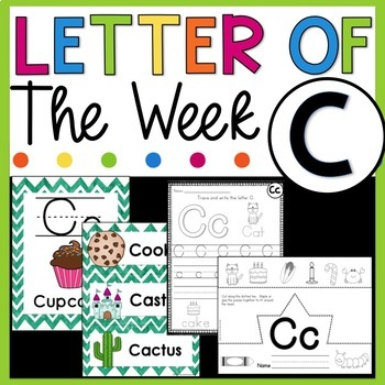 Letter of the Week C - Letter of the Day C - Letter C