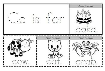 Alphabet Activities Letter Cc