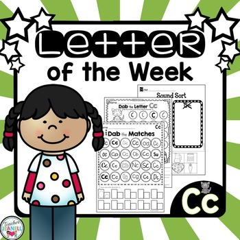 Alphabet Letter of the Week - Cc
