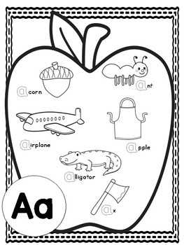 Letter of the Week Coloring Pages