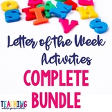 Letter of the Week Complete Bundle
