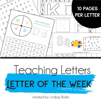 Letter of the Week Complete Set