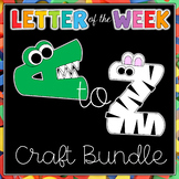 Letter of the Week - Craft Bundle