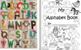 Letter of the Week Craftivities Alphabet Book
