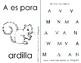 Letter of the Week Curriculum Spanish / Letra de la Semana en español