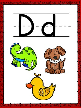 Letter of the Week- D