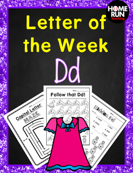 Alphabet Letter of the Week D