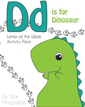 D is for Dinosaur Unit Activity Pack