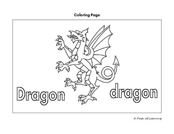 Letter of the Week: D is for Dragon