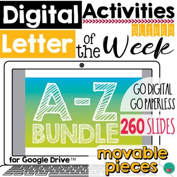 Letter of the Week DIGITAL BUNDLE