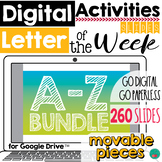 Letter Practice Google Classroom Activities DISTANCE LEARNING