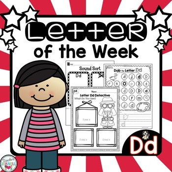 Letter of the Week - Dd