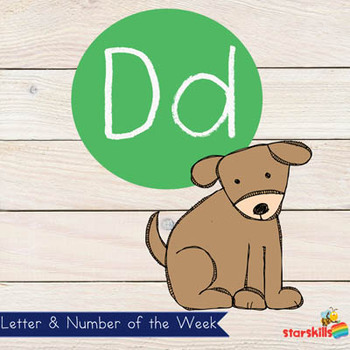 Letter of the Week Dd Workbook