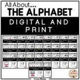 Letter of the Week (Alphabet) - Digital {Google Slides™} a