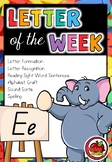 Letter of the Week - E