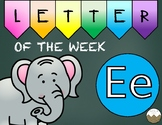 Letter of the Week -E- Activity Pack